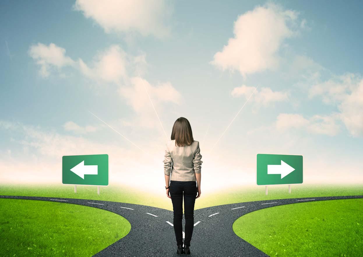 Rebuilding or changing career after separation.